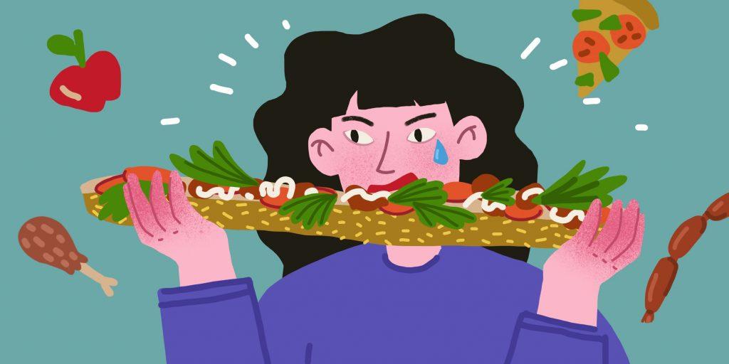 Чем грозит булимия и как от неё избавиться
