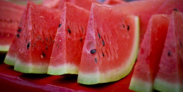 Полезные фрукты и ягоды: арбуз