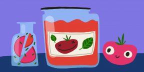 10 простых рецептов томатного соуса