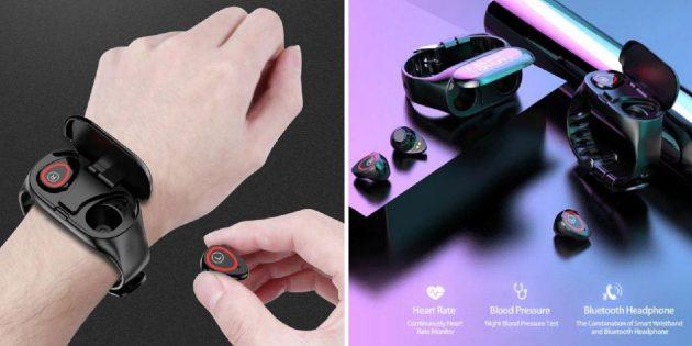 Смарт-часы с Bluetooth-наушниками
