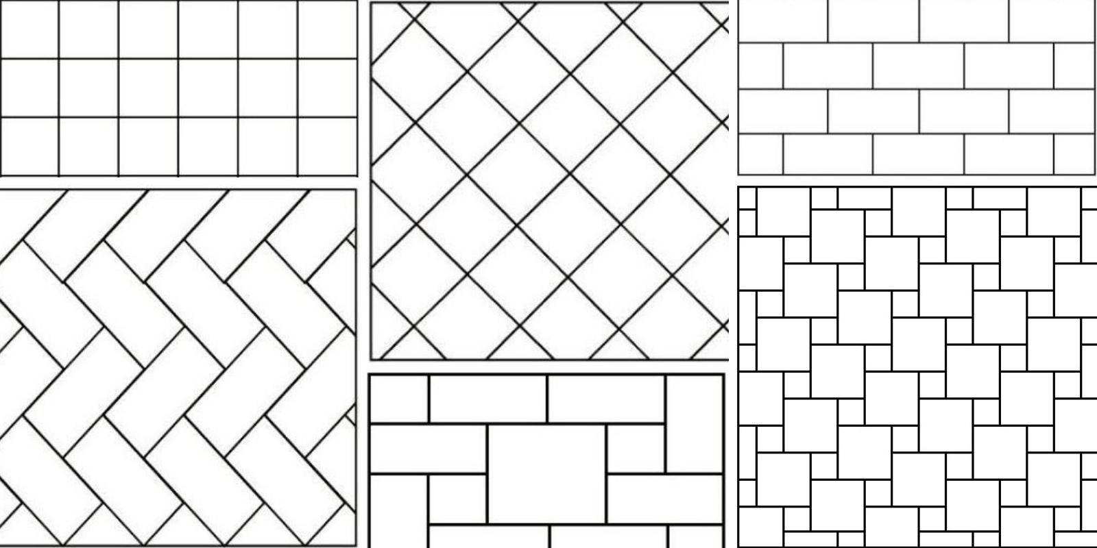 башни рисунок укладки плитки на пол каждый день над