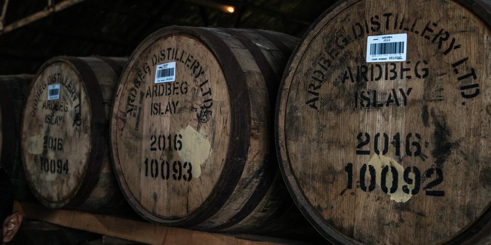 Торфяной виски: бочки
