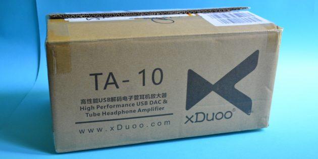 xDuoo TA-10: упаковка и комплектация