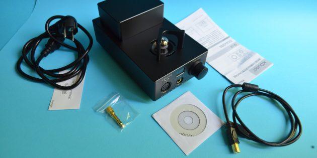 xDuoo TA-10: содержимое упаковки
