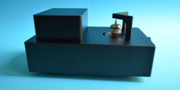 xDuoo TA-10: электронная лампа размещена снаружи