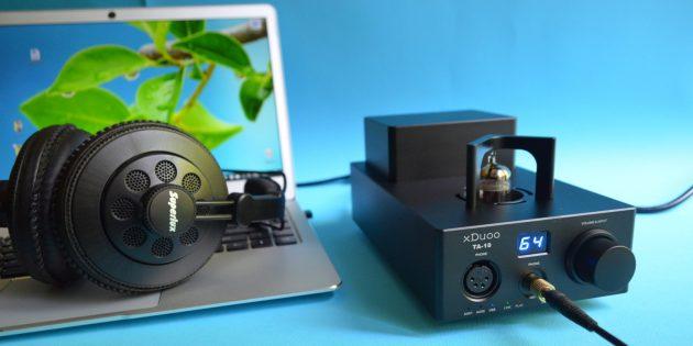 Обзор xDuoo TA-10 — нового ЦАП-усилителя с тёплым ламповым звуком