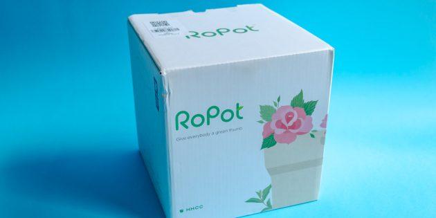 Умный цветочный горшок Youpin Flower Pot: коробка