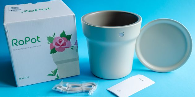 Умный цветочный горшок Youpin Flower Pot: комплектация и дизайн