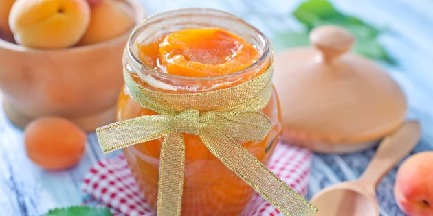 Варенье из абрикосовых долек