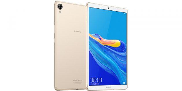 Huawei MediaPad M6 получил 2K-экран с узкими рамками