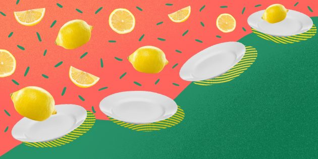 Рецепты с лимонами