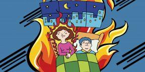 Подкаст Лайфхакера: как спать в жару, если нет кондиционера