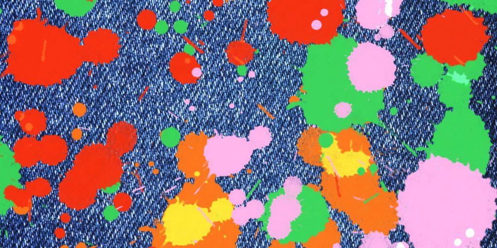 Как очистить краску от штанов