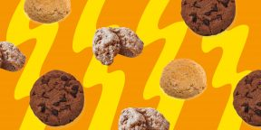 10 способов приготовить вкусное печенье из трёх ингредиентов