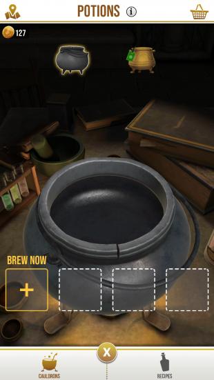 Ингредиенты в Harry Potter: Wizards Unite