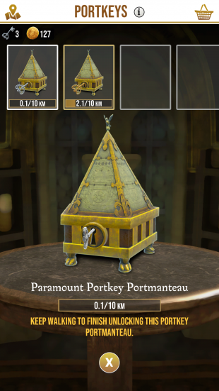 Шкатулки в игре Harry Potter: Wizards Unite