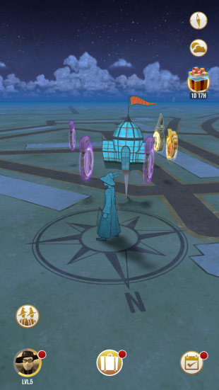 Оранжереи в Harry Potter: Wizards Unite