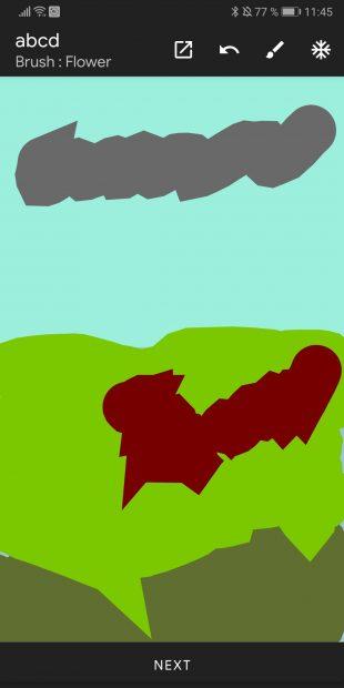 Зарисовка в приложении, которое превращает ваши рисунки в фотореалистичные пейзажи