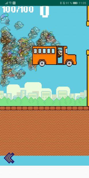 Вышла бесплатная королевская битва по Flappy Bird