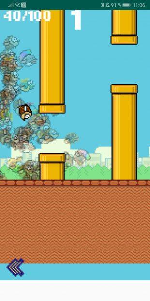 Королевская битва по Flappy Bird