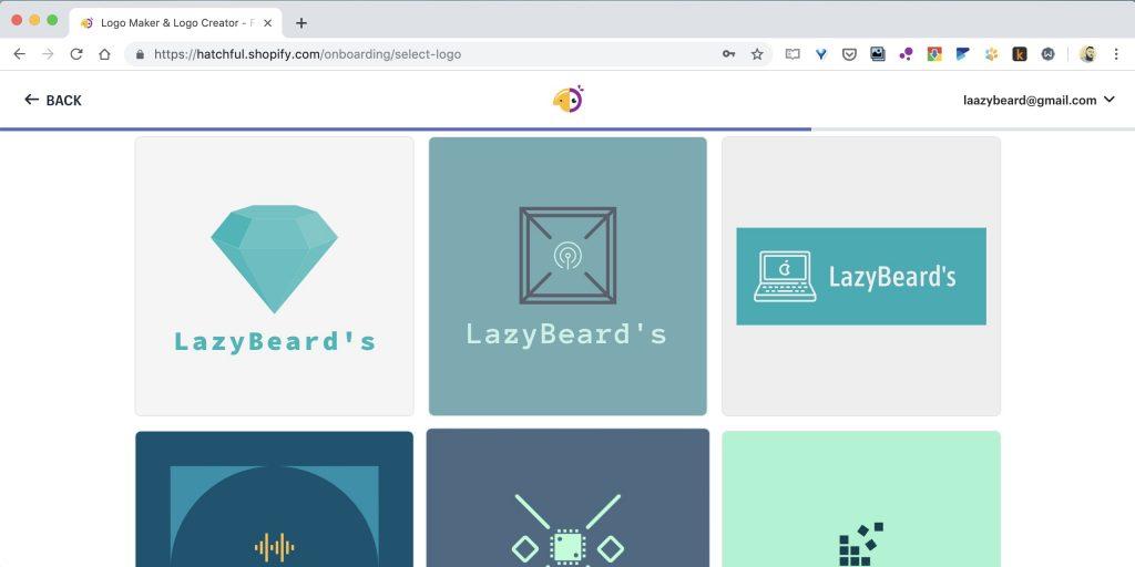 Как создать логотип онлайн на сайте Hatchful