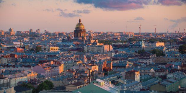 Куда переехать в России: Санкт-Петербург