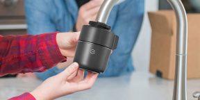 Xiaomi выпустила фильтр для смесителя, который делает воду питьевой
