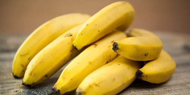полезные фрукты и ягоды: банан