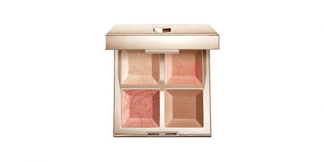 Палетка теней BECCA x Khloé Kardashian & Malika Haqq Bronze, Blush & Glow Palette