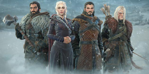 По «Игре престолов» выйдет полноценная сюжетная RPG для Android и iOS