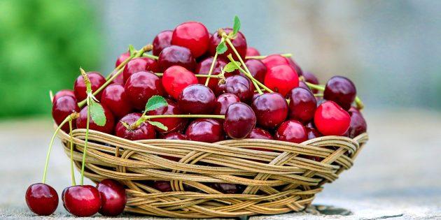 Полезные фрукты и ягоды: вишня