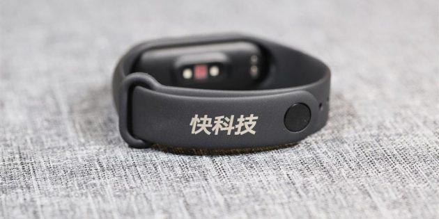 Xiaomi Mi Band 4: пряжка ремешка