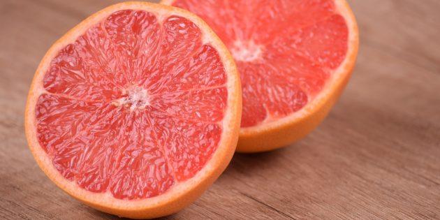 полезные фрукты и ягоды: грейпфрут