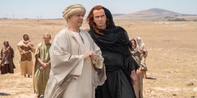 Многие сцены «Благих знамений» сняты долгими планами