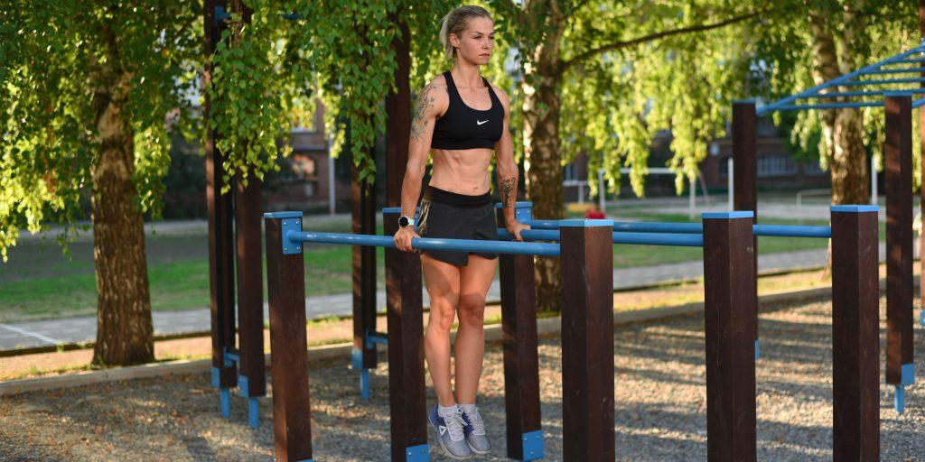Фитнес-клуб в парке