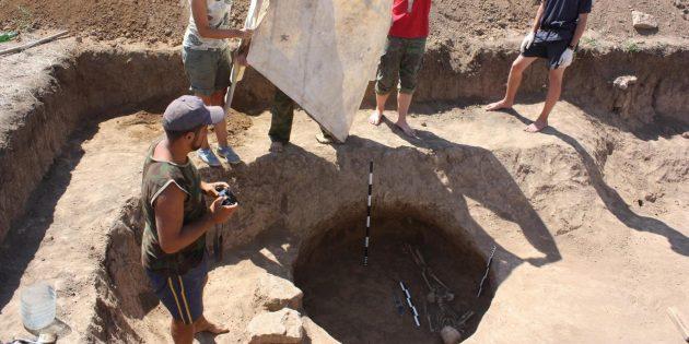 Раскопки в Кульчуке