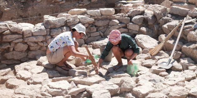 Раскопки в экспедиции
