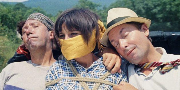 Советские фильмы: «Кавказская пленница, или Новые приключения Шурика»