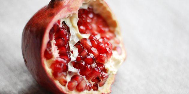 Полезные фрукты и ягоды: гранат