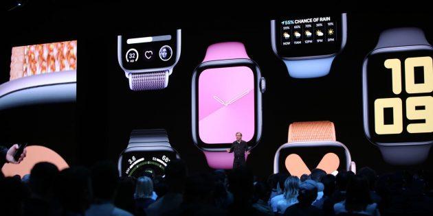 Apple представила новую watchOS с независимыми приложениями