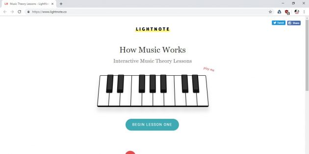 Lightnote