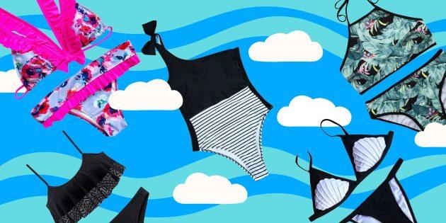 10 удобных и красивых купальников для эффектных фотографий из отпуска