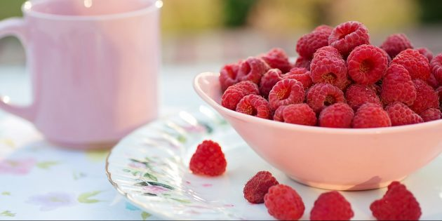 Полезные фрукты и ягоды: малина
