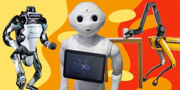 ТЕСТ: Знаете ли вы, на что способны современные роботы?