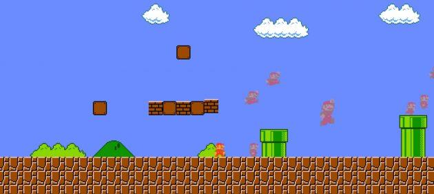Mario в браузере