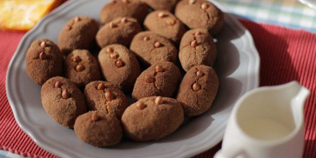 Арахисовое пирожное «картошка» из печенья: лучший рецепт