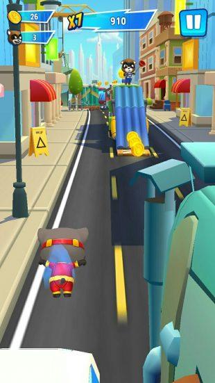 Talking Tom Hero Dash — игра, которая не надоедает