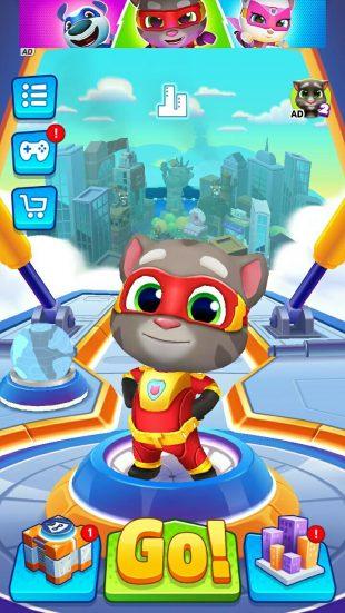 Talking Tom Hero Dash: как Том стал супергероем