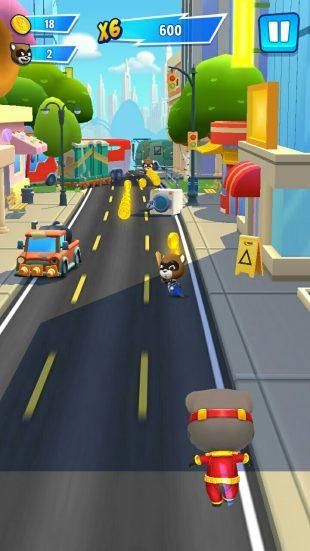 Talking Tom Hero Dash: в процессе прохождения будут открываться новые локации и миссии