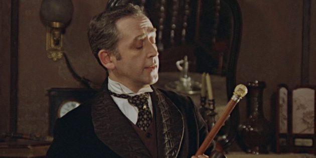 Темнокожая Русалочка и другие неоднозначные персонажи в кино: Василий Ливанов в фильме «Приключения Шерлока Холмса и доктора Ватсона»